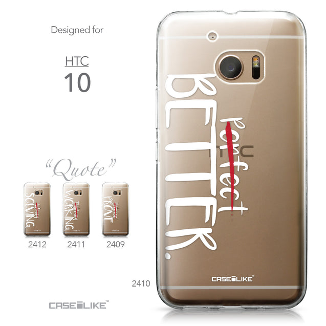 HTC 10 case Quote 2410 Collection | CASEiLIKE.com