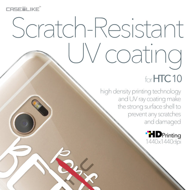 HTC 10 case Quote 2410 with UV-Coating Scratch-Resistant Case | CASEiLIKE.com
