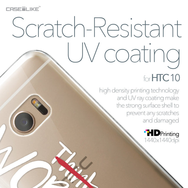 HTC 10 case Quote 2411 with UV-Coating Scratch-Resistant Case | CASEiLIKE.com