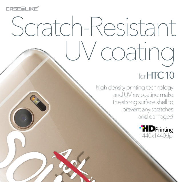 HTC 10 case Quote 2412 with UV-Coating Scratch-Resistant Case | CASEiLIKE.com