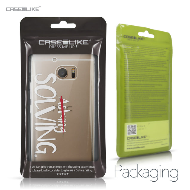 HTC 10 case Quote 2412 Retail Packaging | CASEiLIKE.com