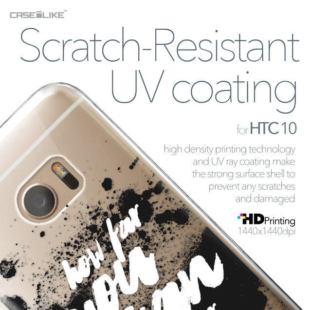 HTC 10 case Quote 2413 with UV-Coating Scratch-Resistant Case | CASEiLIKE.com