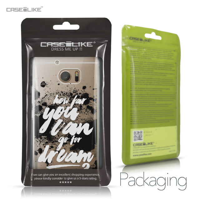 HTC 10 case Quote 2413 Retail Packaging | CASEiLIKE.com