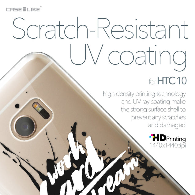 HTC 10 case Quote 2414 with UV-Coating Scratch-Resistant Case | CASEiLIKE.com