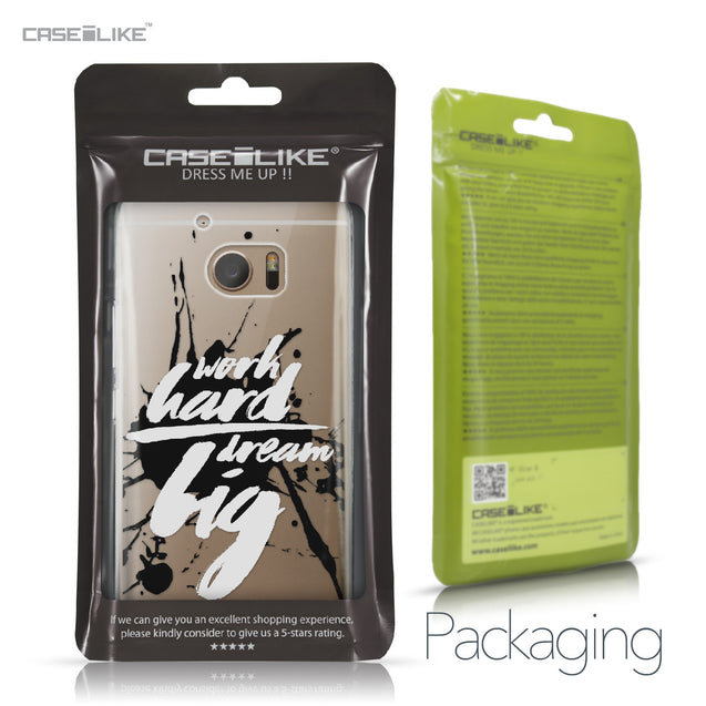 HTC 10 case Quote 2414 Retail Packaging | CASEiLIKE.com