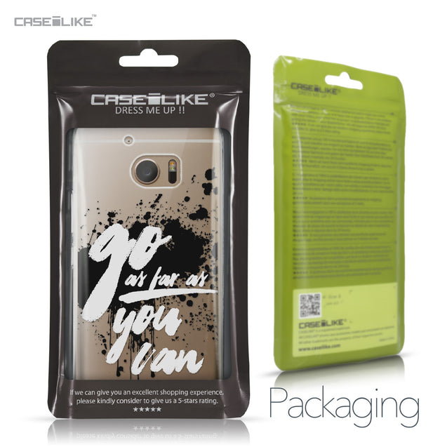 HTC 10 case Quote 2415 Retail Packaging | CASEiLIKE.com