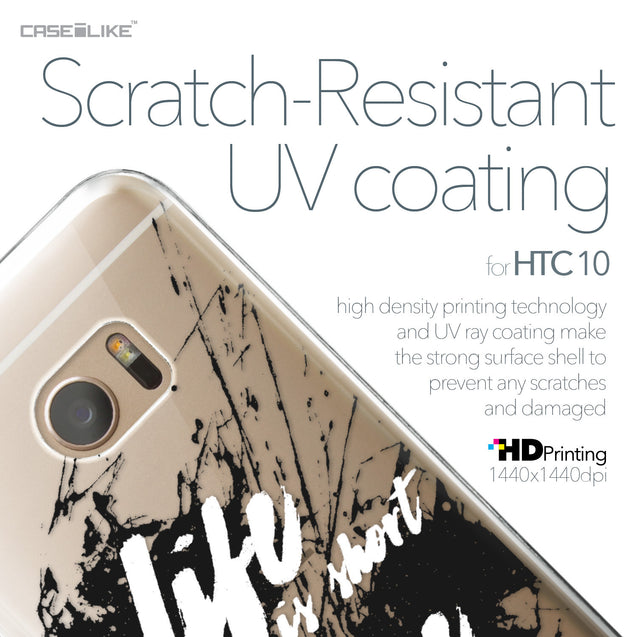 HTC 10 case Quote 2416 with UV-Coating Scratch-Resistant Case | CASEiLIKE.com