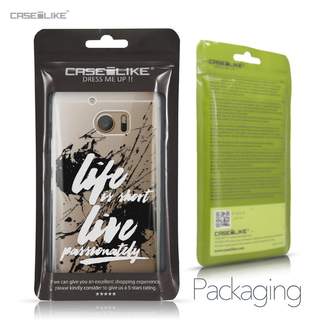 HTC 10 case Quote 2416 Retail Packaging | CASEiLIKE.com