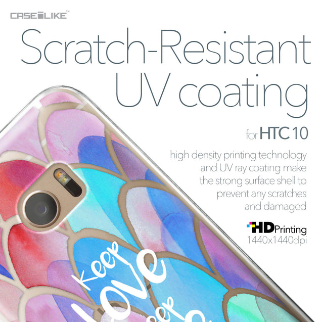 HTC 10 case Quote 2417 with UV-Coating Scratch-Resistant Case | CASEiLIKE.com