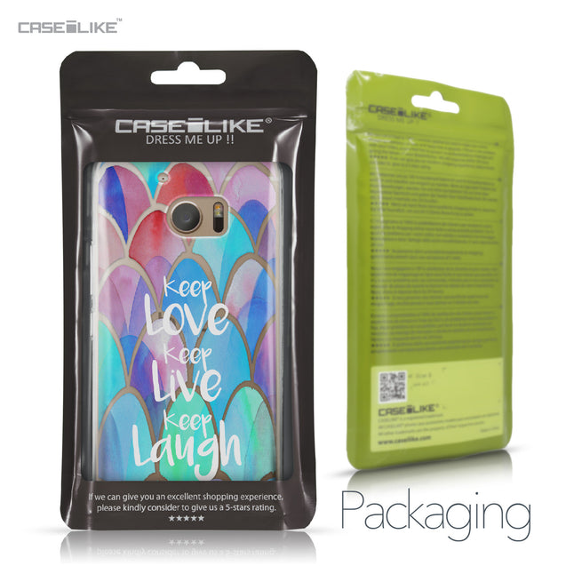 HTC 10 case Quote 2417 Retail Packaging | CASEiLIKE.com