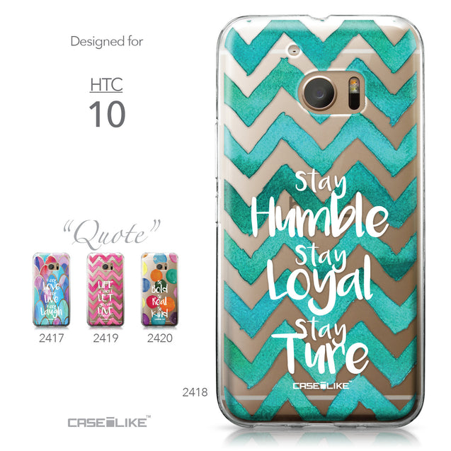 HTC 10 case Quote 2418 Collection | CASEiLIKE.com
