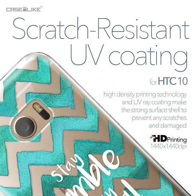 HTC 10 case Quote 2418 with UV-Coating Scratch-Resistant Case | CASEiLIKE.com