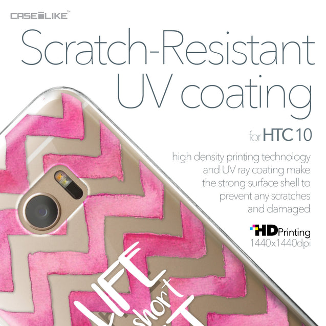 HTC 10 case Quote 2419 with UV-Coating Scratch-Resistant Case | CASEiLIKE.com