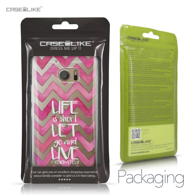 HTC 10 case Quote 2419 Retail Packaging | CASEiLIKE.com