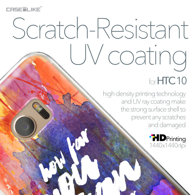 HTC 10 case Quote 2421 with UV-Coating Scratch-Resistant Case | CASEiLIKE.com