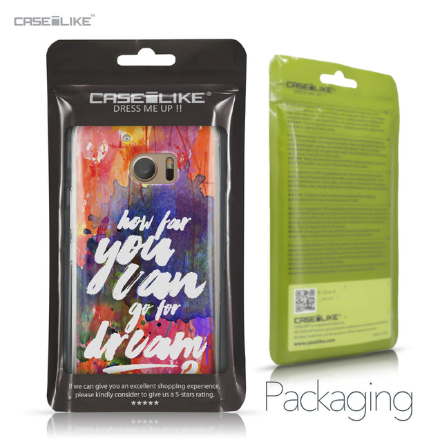HTC 10 case Quote 2421 Retail Packaging | CASEiLIKE.com