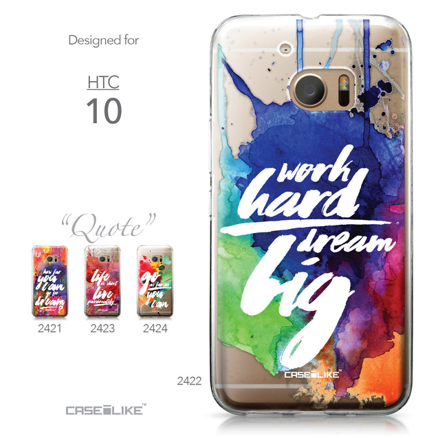 HTC 10 case Quote 2422 Collection | CASEiLIKE.com