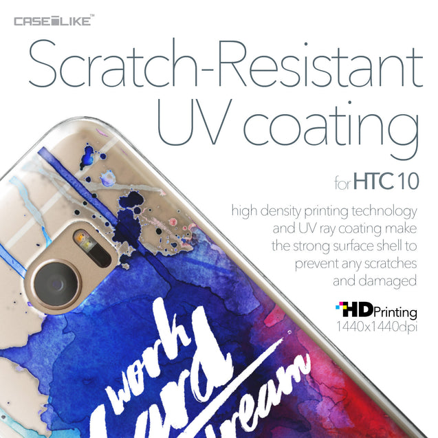 HTC 10 case Quote 2422 with UV-Coating Scratch-Resistant Case | CASEiLIKE.com