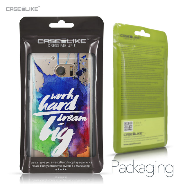 HTC 10 case Quote 2422 Retail Packaging | CASEiLIKE.com