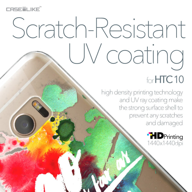 HTC 10 case Quote 2424 with UV-Coating Scratch-Resistant Case | CASEiLIKE.com