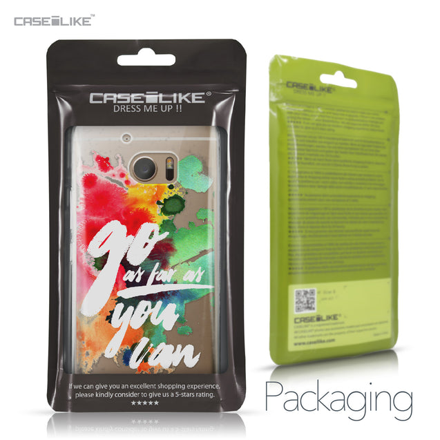 HTC 10 case Quote 2424 Retail Packaging | CASEiLIKE.com