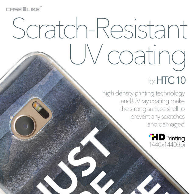 HTC 10 case Quote 2430 with UV-Coating Scratch-Resistant Case | CASEiLIKE.com