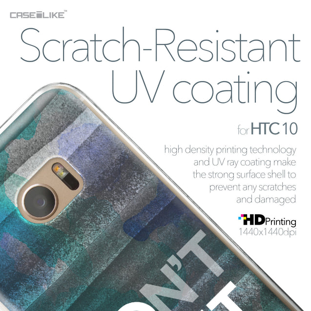 HTC 10 case Quote 2431 with UV-Coating Scratch-Resistant Case | CASEiLIKE.com