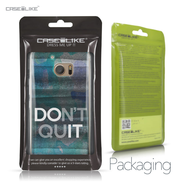 HTC 10 case Quote 2431 Retail Packaging | CASEiLIKE.com