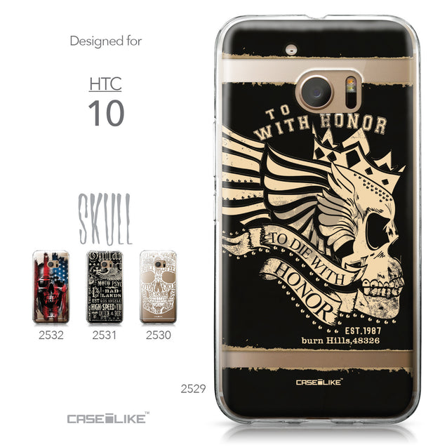 HTC 10 case Art of Skull 2529 Collection | CASEiLIKE.com
