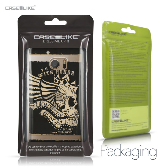 HTC 10 case Art of Skull 2529 Retail Packaging | CASEiLIKE.com