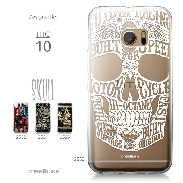 HTC 10 case Art of Skull 2530 Collection | CASEiLIKE.com