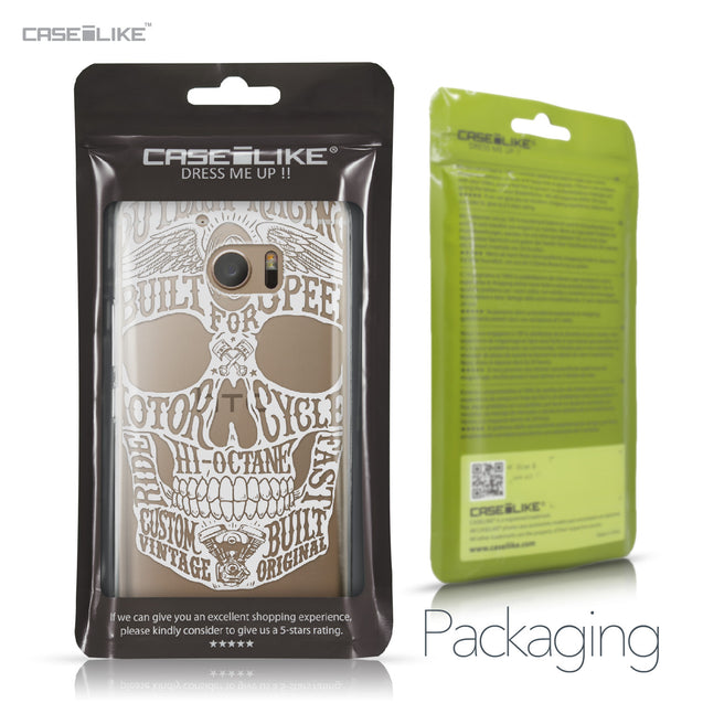 HTC 10 case Art of Skull 2530 Retail Packaging | CASEiLIKE.com