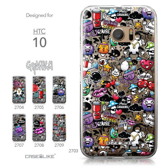 HTC 10 case Graffiti 2703 Collection | CASEiLIKE.com
