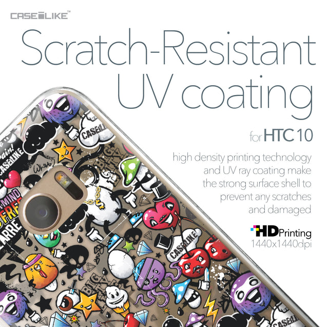 HTC 10 case Graffiti 2703 with UV-Coating Scratch-Resistant Case | CASEiLIKE.com