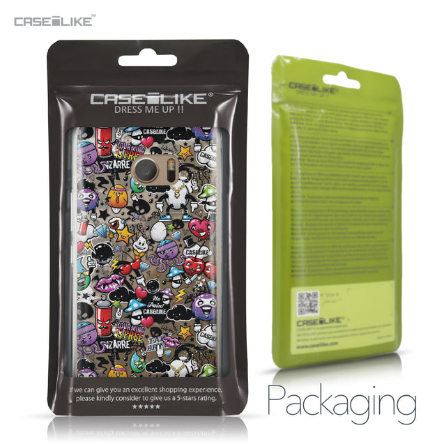 HTC 10 case Graffiti 2703 Retail Packaging | CASEiLIKE.com