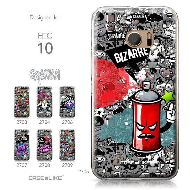 HTC 10 case Graffiti 2705 Collection | CASEiLIKE.com