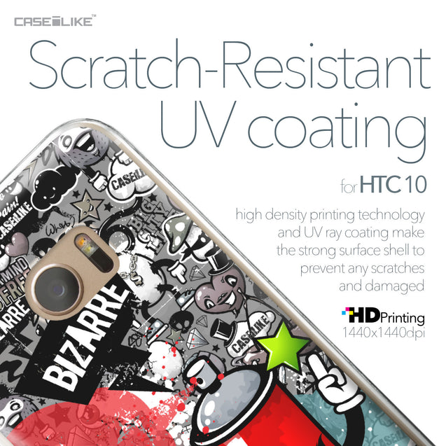 HTC 10 case Graffiti 2705 with UV-Coating Scratch-Resistant Case | CASEiLIKE.com