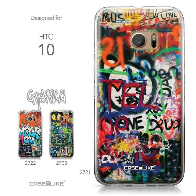 HTC 10 case Graffiti 2721 Collection | CASEiLIKE.com