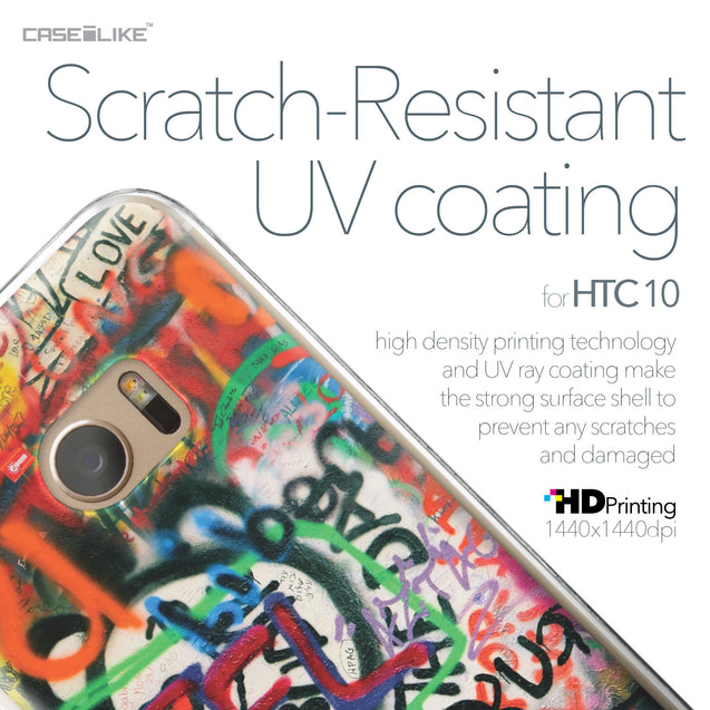 HTC 10 case Graffiti 2721 with UV-Coating Scratch-Resistant Case | CASEiLIKE.com