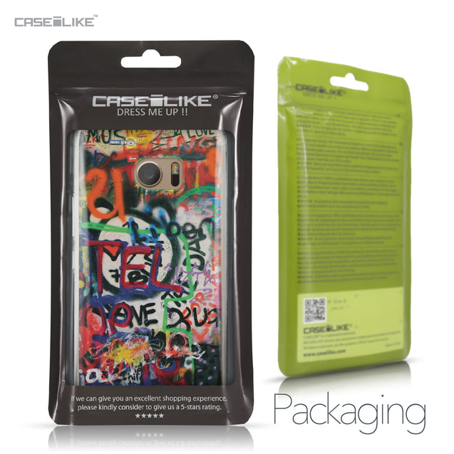 HTC 10 case Graffiti 2721 Retail Packaging | CASEiLIKE.com