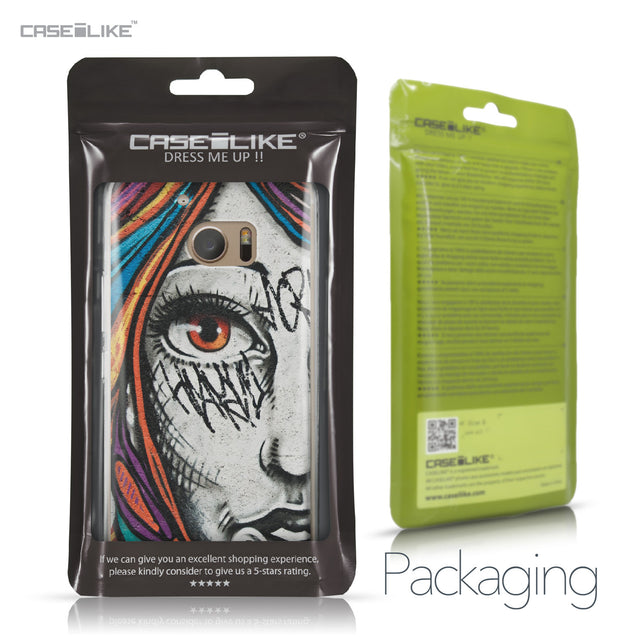 HTC 10 case Graffiti Girl 2724 Retail Packaging | CASEiLIKE.com