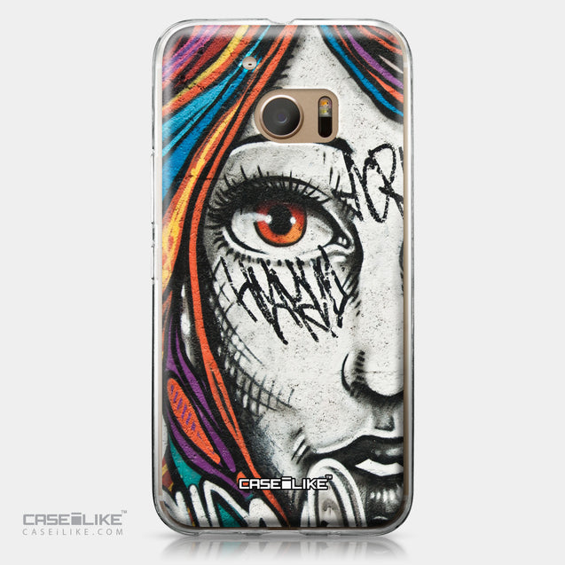 HTC 10 case Graffiti Girl 2724 | CASEiLIKE.com