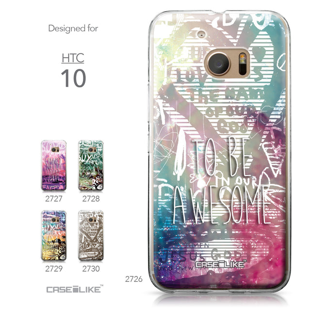 HTC 10 case Graffiti 2726 Collection | CASEiLIKE.com