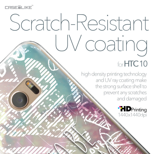 HTC 10 case Graffiti 2726 with UV-Coating Scratch-Resistant Case | CASEiLIKE.com