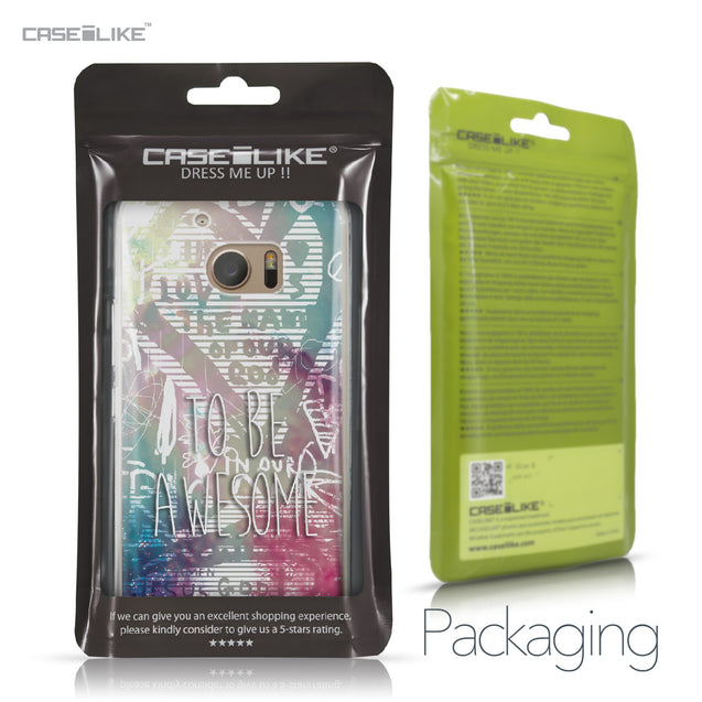 HTC 10 case Graffiti 2726 Retail Packaging | CASEiLIKE.com