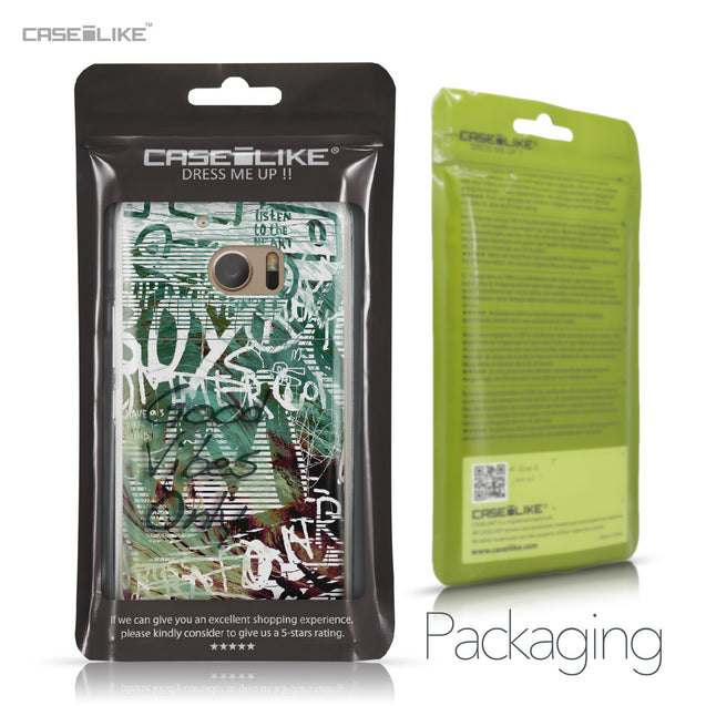 HTC 10 case Graffiti 2728 Retail Packaging | CASEiLIKE.com