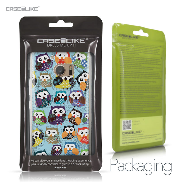 HTC 10 case Owl Graphic Design 3312 Retail Packaging | CASEiLIKE.com