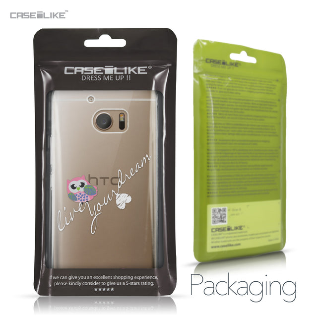HTC 10 case Owl Graphic Design 3314 Retail Packaging | CASEiLIKE.com