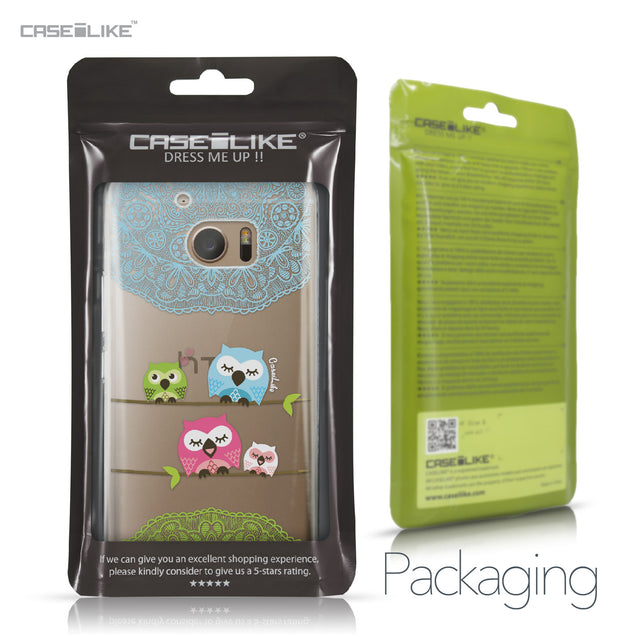 HTC 10 case Owl Graphic Design 3318 Retail Packaging | CASEiLIKE.com