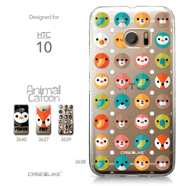 HTC 10 case Animal Cartoon 3638 Collection | CASEiLIKE.com